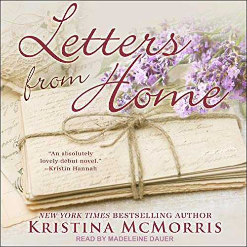 Letters from Home audiobook cover art