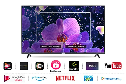 iFFALCON 103 cm (40 inches) Full HD Android Smart LED TV 40F2A (Black) (2021 Model) | With Built-in Voice Assistant 3