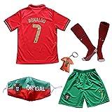 BIRDBOX 2021 Portugal Home Red #7 Cristiano...