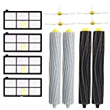 WuYan Replacement Parts Kit for iRobot Roomba 960 980 990 900 890 896 885 886 865 866 800 805 860 861 870 871 880 Accessories Kit with 4 Side Brushes + 4 HEPA Filter + 2set/4pcs Rollers