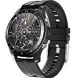 Smart Watch, Fitness Tracker 1.28 'Pantalla TáCtil con PresióN Arterial / Ritmo CardíAco / PodóMetro para Dormir Monitor De CronóMetro Monitor De Relojes A Prueba De Agua