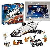 LEGO 60226 City Mars 30365 - Juego de construcción de satélite espacial, multicolor