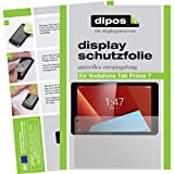 dipos I 2X Schutzfolie matt kompatibel mit Vodafone Tab Prime 7 Folie Bildschirmschutzfolie