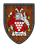 Anthony Family Crest Custom Coat of Arms,...