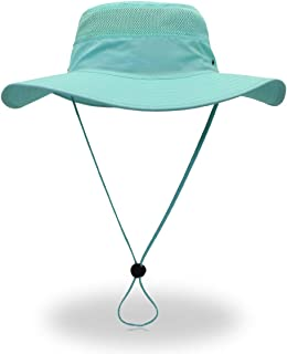 Jane Shine Outdoor Sun Hat Quick-Dry Breathable Mesh Hat Camping Cap