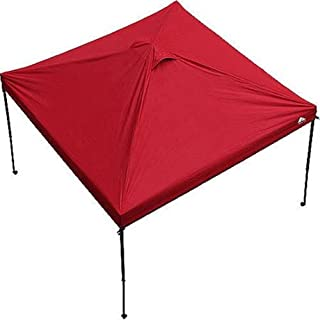Ozark Trail 10' x 10' Gazebo Canopy Top - Red Color (Canopy Top Only). Includes: (1) 10 Feet X 10 Feet Canopy Top Only, and (1) Carrying Bag With Handle and Zipper. Canopy Frame Is Not Included.
