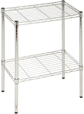 TWO TIRE STEEL WIRE SHELVING