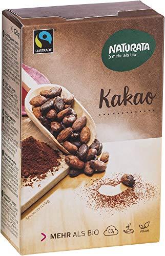 Naturata Bio Kakao, schwach entölt, 20-22 % (6 x 125 gr)