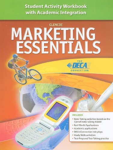 Marketing Essentials: Student Activity Workbook With Academic Integration