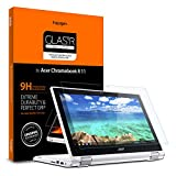 Spigen Tempered Glass Screen Protector Designed for Acer Chromebook R 11 Convertible (11.6 inch) [9H Hardness]