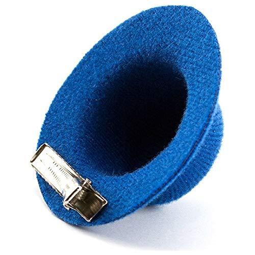 Eurroweb Pince pour Les Cheveux en Forme de Chapeau - Pince Originale Couleur - Fuchsia