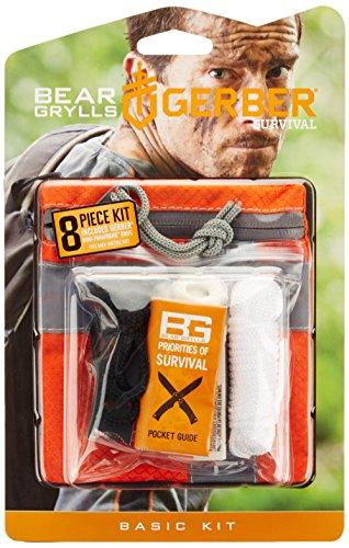 Gerber Survival GBR-1021136 Kit di Sopravvivenza, Arancio, Medio