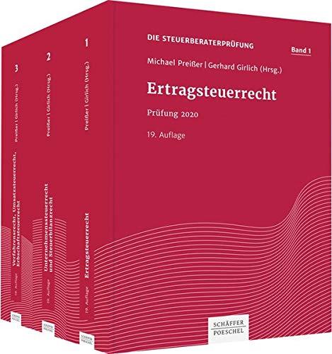 Die Steuerberaterprüfung: Prüfung 2020, Paket - Bände 1-3