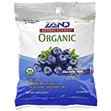 Herbal Lozenge Organic Blue Berries 18 lozenges, Zand