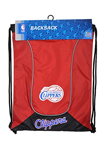 Northwest NBA Los Angeles Clippers - Mochila doble (45,7 cm), color rojo