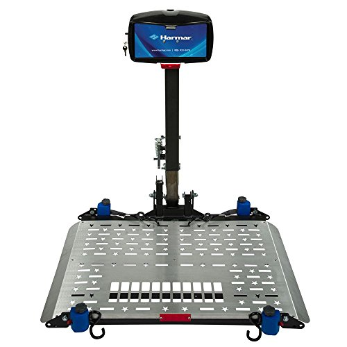 Harmar Mobility AL500 Power Wheelchair Lift Outside Fully Automatic Carrier with II/III Hitch Adapter & Wiring Harness & Swing-Away Arm -  AL-500-WH-HASW