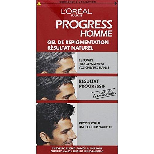 L'Oréal Paris - Progress Homme - Progress Homme Gel de repigmentation naturelle - L'unité - Prix Unitaire - Livraison Gratuit Sous 3 Jours