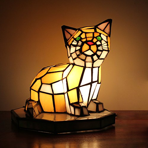 cute cat shape table lamp