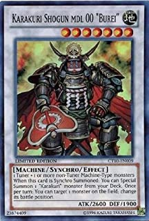 "Yu-Gi-Oh! - Karakuri Shogun mdl 00 ""Burei"" (CT10-EN009) - 2013 Collectors Tins - Limited Edition - Super Rare"
