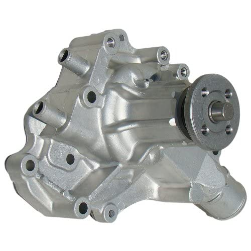 milodon 16231 performance aluminum high volume water pump for ford 302, 351w