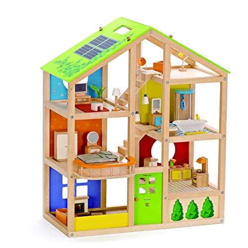 All Seasons Kids Wooden Dollhouse by...