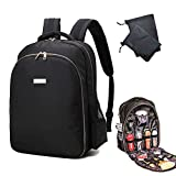 Barber Backpack Barber Bag Hairdressing Storage Backpack for Clippers and Supplies Large Capacity Barber Shop Tools Bag 3 in 1