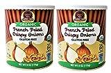 Organic French Fried Crispy Onions - Kosher, Vegan, Gluten-Free, NON-GMO, USDA Organic - 6 Oz (2...