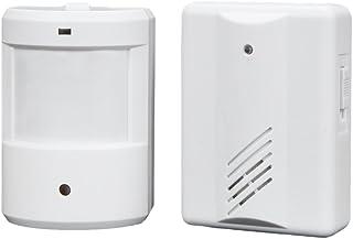 Blesiya Multifunction Infrared Motion Sensor Door Bell Enegg Entry Alert Alarm Chime