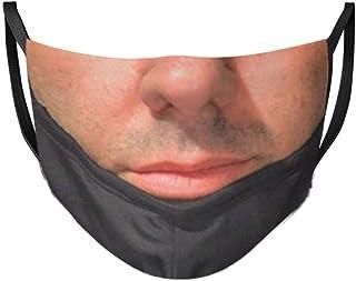 Facemasks Washable Reusable Funny Pranks Balaclava Dustproof Adjustable Earloop Face_Masks for Adults Men Women