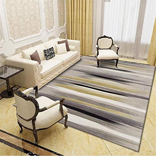 Muebles Sala De Estar Alfombras Pasillo Modernas Abstracto Tinta Pintura Dormitorio Salón...