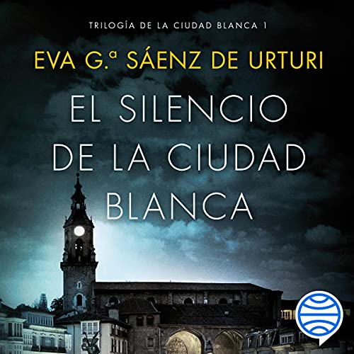 Diseño de la portada del título El silencio de la ciudad blanca