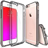 Ringke iPhone 6 Plus Funda 5.5 Fusion Funda [Smoke Black Negro] Absorcin del Choque Bumper Prima Hbrido Duro Proteccin Case Cover Funda Cascara para Apple iPhone 6 Plus 5.5