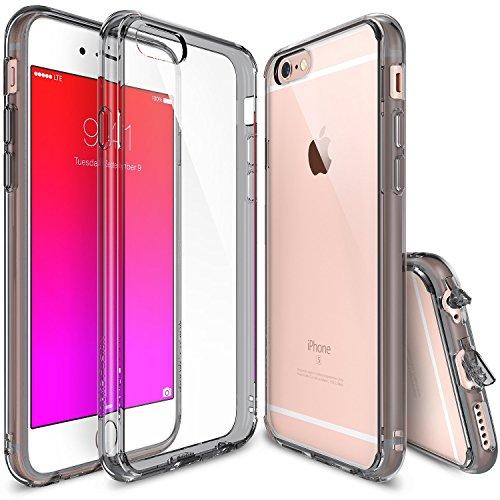 Ringke Custodia iPhone 6 Plus 5.5 Fusion Custodia [Smoke Black Nero] absorcin del Antiurto Bumper Prima hbrido Disk proteccin Case Cover Custodia Cascara per iPhone 6 Plus 5.5'