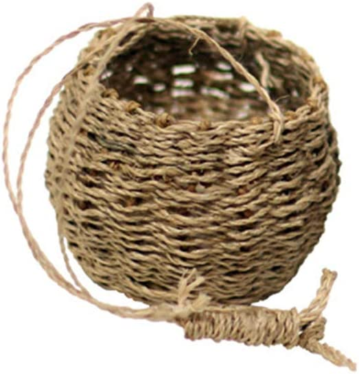 favorite Hibye Garden Plant Storage Basket Jute Hanging Wove Planter Product Rope