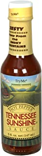 TryMe Tennesse Sunshine Hot Pepper Sauce, 5-oz. (Pack of 12)