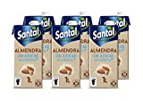 Santal Bebida Vegetal de Almendra, sin Azúcar, 6 x 1L