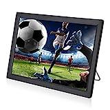 Car Digital TV 14 pollici, DVB-T / T2 LEADSTAR TV digitale per auto, TV Portatile con schermo LED TFT, Mini TV Analogica 1080P supporta - USB, HDMI, VGA, AV, MP3/MP4
