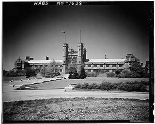 HistoricalFindings Photo: Washington University,Brookings Hall,Skinker & Lindell BLVD,Saint Louis,MO