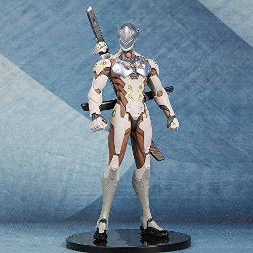 brandless Overwatch Anime Figuren Genji PVC Vinyl Figur Sammler PVC Action Figur Anime Figur Anime Figur 18.5CM