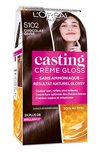 L'Oréal Paris Casting Crème Gloss 5102 Chocolat Givré Châtain Foncé Glacé Collection Cool Brunette