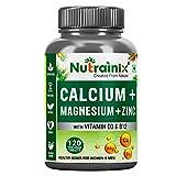 Best B12 Supplements - Nutrainix Calcium tablets for Women & Men, Review
