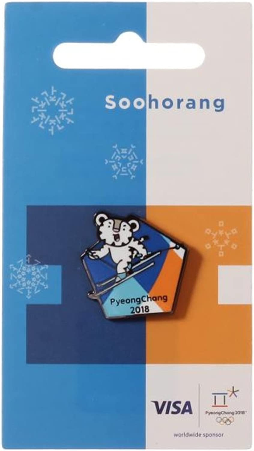 2018 Pyeongchang Winter Olympic Official Licensed Collectible Pin Badge