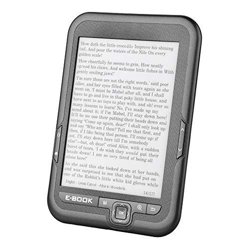 電子書籍リーダー Acouto 6インチ 電子ペーパー 電子インク 電子リーダー 電子ブック 読みやすい 低消費電力 電子インクスクリーン(グレー8g)