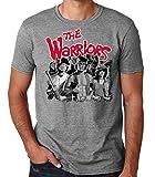 Desconocido 35mm - Camiseta Hombre The Warriors - Pelicula de Culto - Bandas Callejeras - Gris - Talla XL