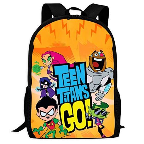 Kimi-Shop Teen_Titan Go | Mochilas Escolares cómodas y Ligeras Mochil