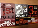 James Patterson Womens Murder Club Set (1st To Die, 2nd Chance and 3rd Degree) (Womens Murder Club)
