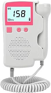Mr. Fragile Doppler Fetal Detector de Ritmo Cardíaco, Monitor de Escucha Cardíaca Portátil para