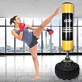 U'King Boxsack Freistehender Standboxsack Boxpartner Boxing Trainer Heavy Duty Boxsack Set Stehend Boxsäule Tumbler