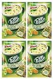 Knorr Delicioso Instantáneo Pollo Sopa en a Taza con pequeño Cubo Bred [Pack de 4]