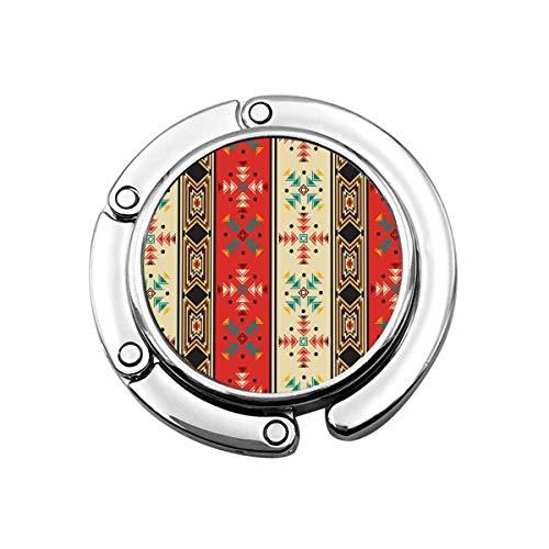 Geldbörsenhaken Navaho Style Print Charm Geldbörse Handtasche Tisch Schreibtischhaken - Hakenhalter